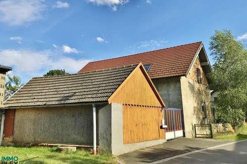 """Einfamilienhaus mit """"AUSBAUFÄHIGEM"""" Obergeschoss in wunderschöner, ruhiger Lage zu verkaufen! 2084 Prutzendorf/Nähe Weitersfeld"""