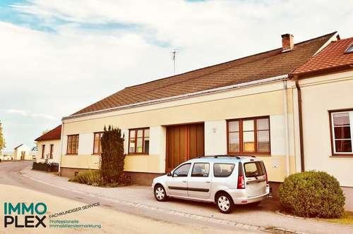 Einfamilienhaus mit Nebengebäude, Schuppen und Garagen in 2074 Kleinriedenthal zu verkaufen!