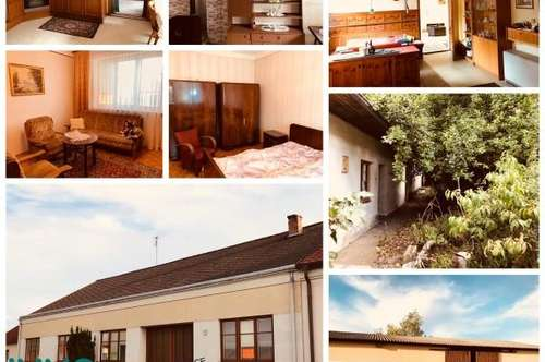 Bauernhaus mit großen Nebengebäude + Schuppen und Garagen in 2074 Kleinriedenthal/Retz zu verkaufen!