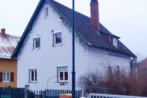 In 2095 Drosendorf/Thayatal - Nähe Geras; Einfamilienhaus mit 6 Zimmer und 138m2 Wfl. zu kaufen!