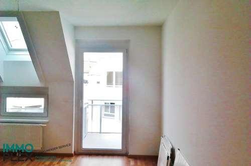 2000 Stockerau; 2 Zimmer-Dachgeschoss-Wohnung mit Balkon und wunderschöner Aussicht zu mieten!