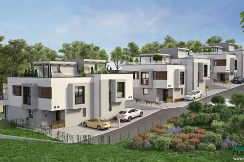 Sulz im Wienerwald; Modern gestaltete Doppelhaushälfte in Grünruhelage, Provisionsfrei