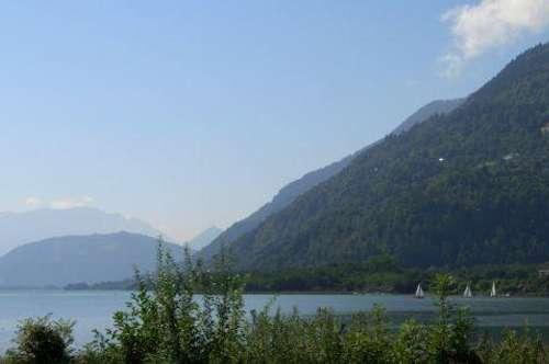 Ossiacher See! Seegrundstück mit Uferfläche in Bodensdorf