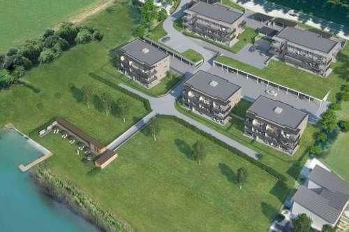 Ossiacher See! Neubau-Eigentumswohnung an der ruhigen und naturnahen Ostbucht