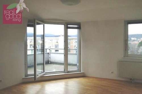 Neben LKH: Wohnung mit Garage und 24 m² Balkon