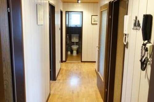 Internet, Fernseher, HK und Warmwasserakkonto bereits inkludiert: Voll möblierte 4-Zimmer Wohnung im Zweifamilienhaus in absoluter Grünlage Korneuburgs