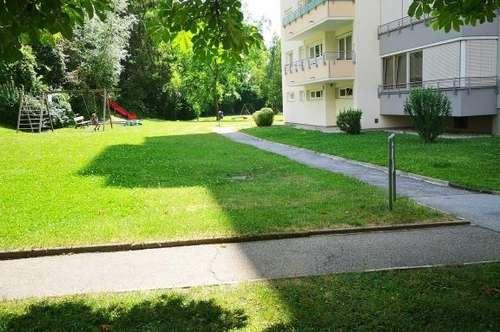 absolut ruhig gelegene und sehr gut aufgeteilte Eigentumswohnung mit Süd-Balkon und Garagenparkplatz