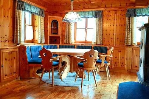 Urlaub so nah, Ferienhaus im Schi- und Wandergebiet Gaberl