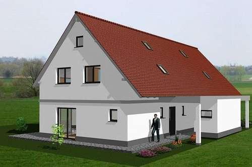 Doppelhaushälfte mit Garten und Carport