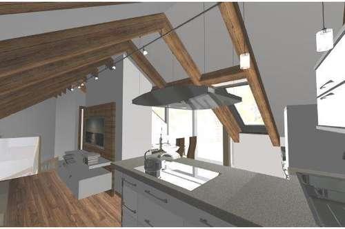 Wohnen auf 76m² im Neubau mitten in Graz - Sonnenterrasse mit Fernblick inklusive!