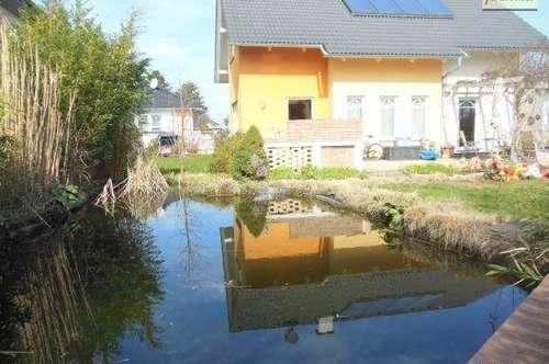 5 Zimmer Einfamilienhaus! Ruhelage! Sonniger Garten! Schwimmteich! Unverbauter Blick!