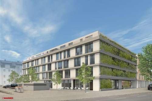 Atelier mit Balkon - moderner Grundriss