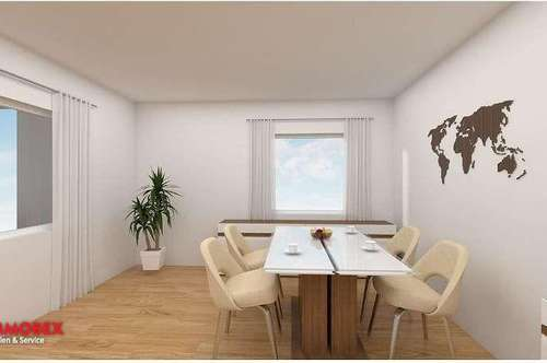 Neue, optimierte 3-Zimmer Gartenwohnung