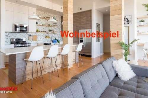 Attraktive Penthouse-Wohnung mit Fernblick
