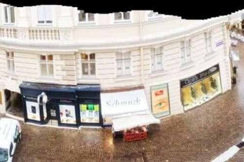 exklusiv renoviertes Altbaubüro in mitten der Fußgängerzone zu vermieten!