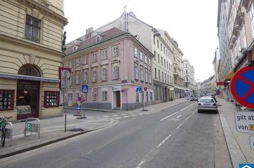 Gut sichtbares Ecklokal an der Margaretenstraße