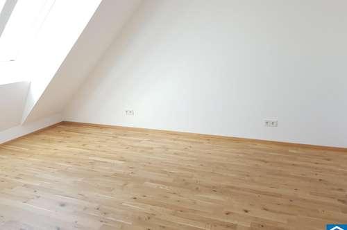 Perfekt angebundene 2-Zimmer Dachgeschoßwohnung - ERSTBEZUG.
