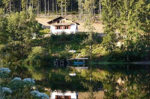 Haus in ruhiger Lage am See mit eigenem Seezugang