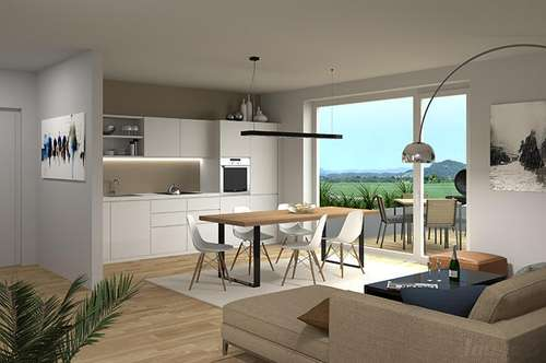 Exklusives Penthouse mit ca. 35m² Dachterrasse & 180° Panorama-Blick ..! Parkplatz ..! Nur 15 Min./ Leibnitz ..! Steigerungspotential ..! ..!