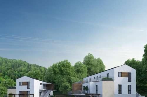 Traumhaftes Penthouse in kleiner Appartementanlage mit ca. 80 m² Dachterrasse in Graz-Ragnitz!