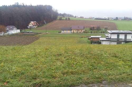 Baugrund mit landwirtschaftlicher Nutzfläche