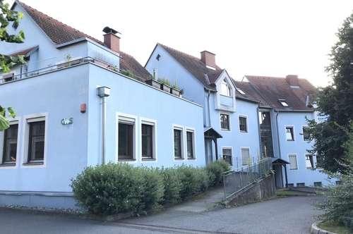 Dachgeschosswohnung im Grünen, mit tollem Wintergarten!