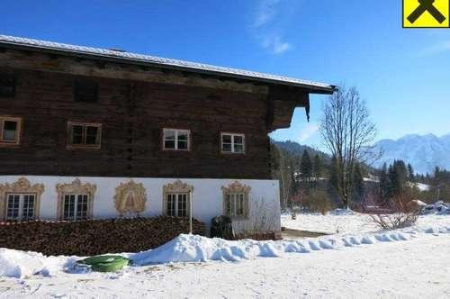 Traditionelles Bauernhaus in Sachrang