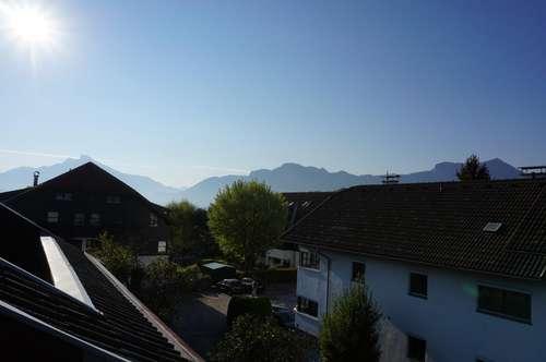 """Charmante 3 Zi. Dachgeschosswohnung Mondsee - Prielhof mit 25 m² Loggia/Dachterrasse """"Optional - Möbliert"""""""