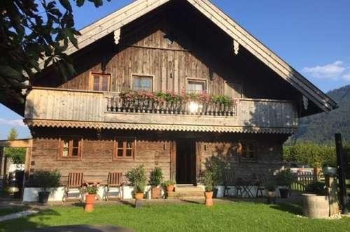 Romantisches Holzblockhaus für Naturliebhaber in Mondsee-Loibichl zu vermieten!