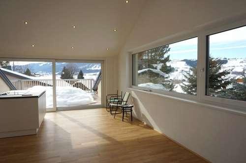 3 Zi. Dachgeschossmaisonette am Irrsee zu vermieten - (Strandbad Laiter) inkl. großer Dachterrasse mit Traumseeblick