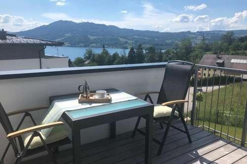 Traumwohnung in Steinbach am Attersee - NEUWERTIG ! ! ! mit Seeblick, Balkon, Lift, Tiefgarage, hochwertige Tischlereinbauten ! ! !