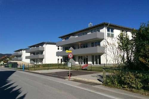 Trendige 2 Zi. Wohnung Mondsee/Schlössl mit sonnigem Westbalkon, Lift, Tiefgaragenplatz und PKW-Stellplatz ! ! !