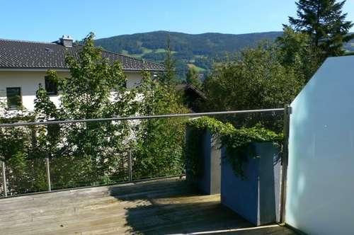 Stylische 2 Zi. Whg. mit Tiefgarage, Lift und 2 Sonnenterrassen in Mondsee - St. Lorenz