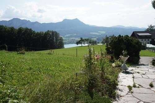 Rarität am Mondseeberg - Haus mit Einliegerwohnung in Toplage mit Mondsee- und Panoramablick ! ! !