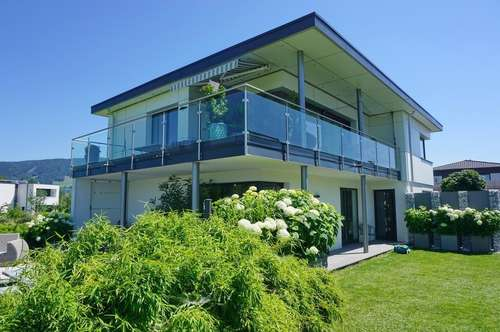 Designervilla in Seenähe und traumhafter Grünruhelage am Mondsee