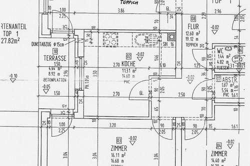 WIPPTAL-Schmirn 3 Zimmer Gartenwohnung