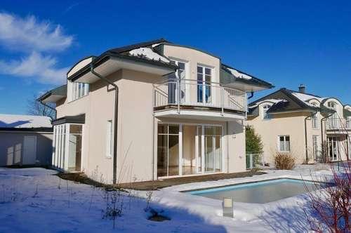 Traumhaftes Einfamilienhaus in TOP Lage mit Pool und Doppelgarage - 124,32 m² Wohnnutzfläche - 5081 Anif