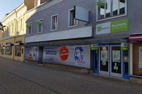 Vielseitig nutzbares Geschäftslokal in der Fußgängerzone Bruck/Leitha