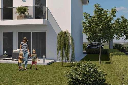 Doppelhaushälfte mit großem Garten und großer Terrasse (Haus 10)