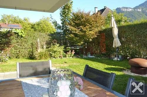 Dornbirn-Hatlerdorf: 3-Zimmerwohnung mit ca. 159m² angrenzender Gartenfläche