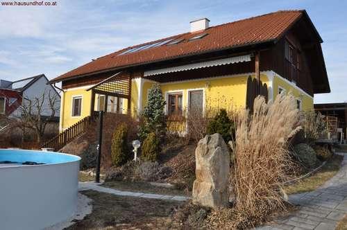 Vollunterkellertes Einfamilienhaus 18 km von Linz-Auhof - sonnige Lage