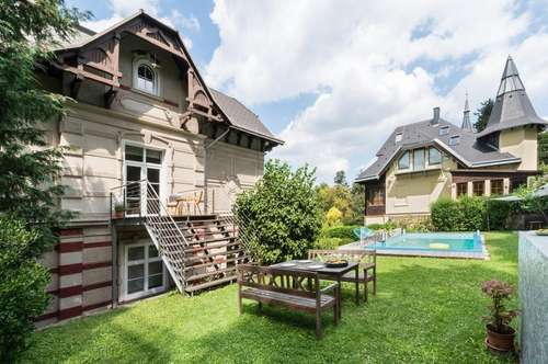 Historische Villa in Dornbach