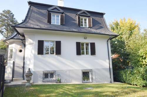 Wohnen im Pförtnerhaus mit Eigengarten & Parkbenutzung