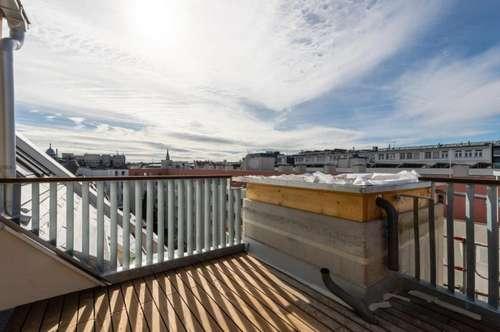 Erstbezug - neuausgebaute Maisonette mit Terrasse