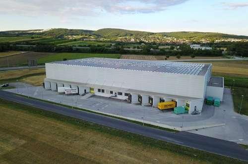 Top moderne Logistikflächen - Palettenlager