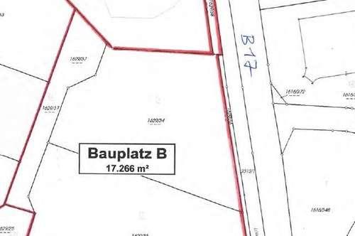 Betriebsbaugrund in werbewirksamer Lage - nächst B17