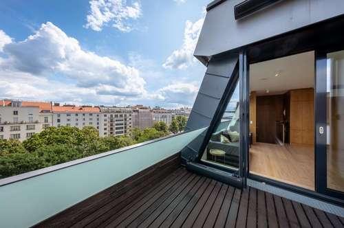 WOHNEN AM MODENAPARK – Neuwertige Maisonette Wohnung mit toller Terrasse!