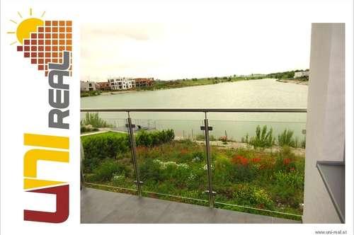 - UNI-Real - Erstbezug: Privatstrand, 4 Zimmer, 2 Parkplätze