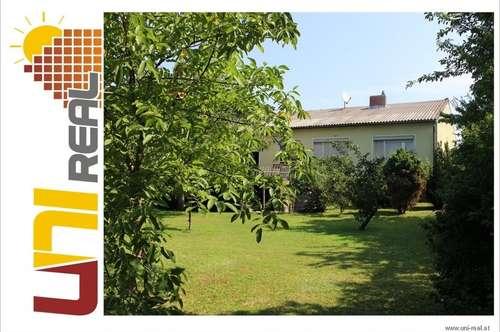 - UNI-Real - Bungalow mit traumhaften Garten