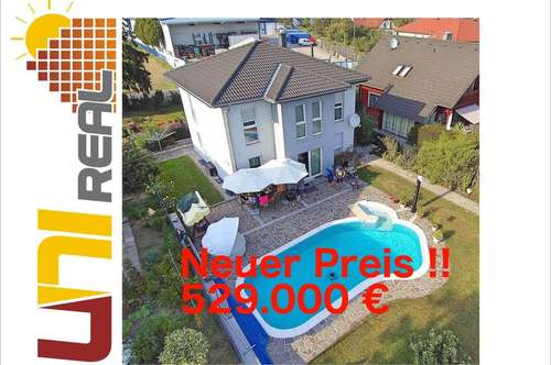 - UNI-Real - Traumhaus inklusive großem Pool und Doppelgarage mit Überlänge!